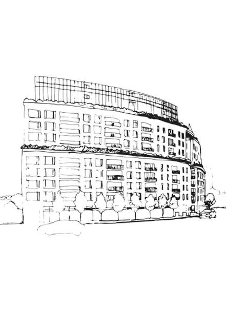 Sketch 181 Davenport Mizrahi